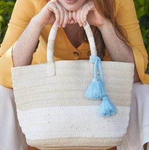 Handmade Straw Tote